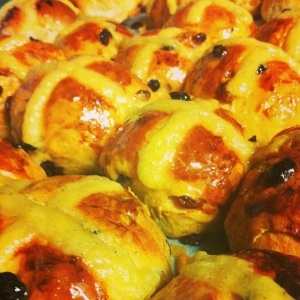 The buns of myths & legends ....nice anyway with a knob of butter :)