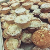First time I got our mince pies onto the shop shelves.